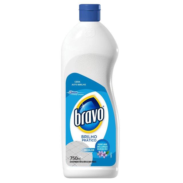 Cera Incolor Bravo Classic Brilho Natural 750ml