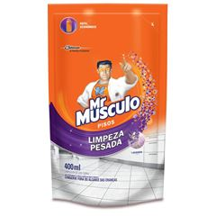 Limpador Mr. Músculo Limpeza Pesada Lavanda Refil 400ml