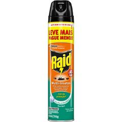 Inseticida Raid Multi-Insetos Spray Base Água Eucalipto Leve Mais Pague Menos 420ml