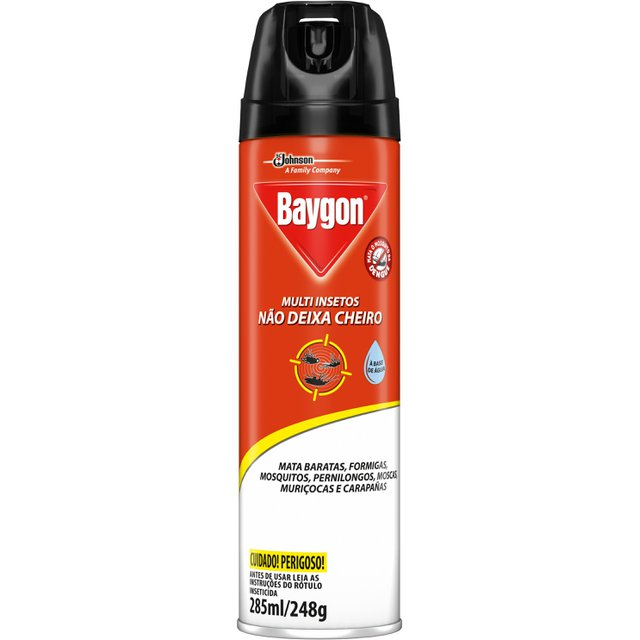 Inseticida Baygon Multiplus 285ml