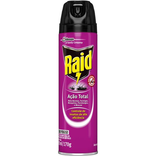 Inseticida Raid Multi-Insetos Spray Ação Total 285ml