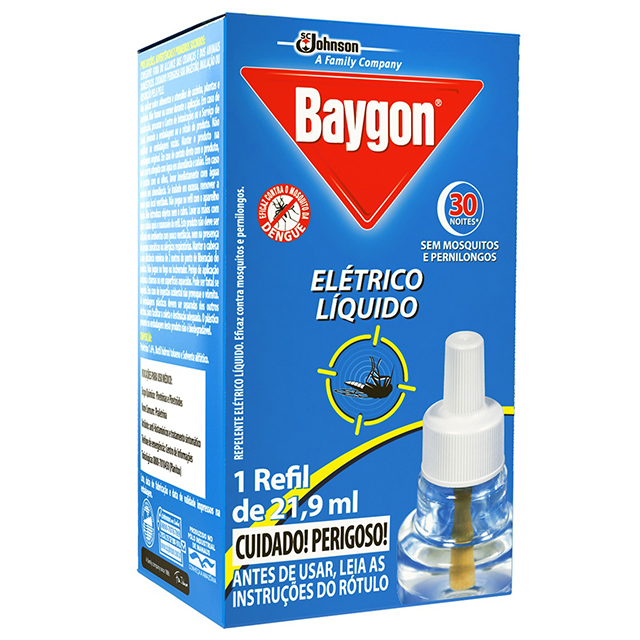 Baygon Elet Liq 30n Refil 21,9ml