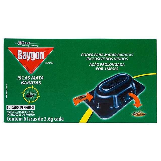 BAYGON MATA BARATA ISCA C/6X2,6G