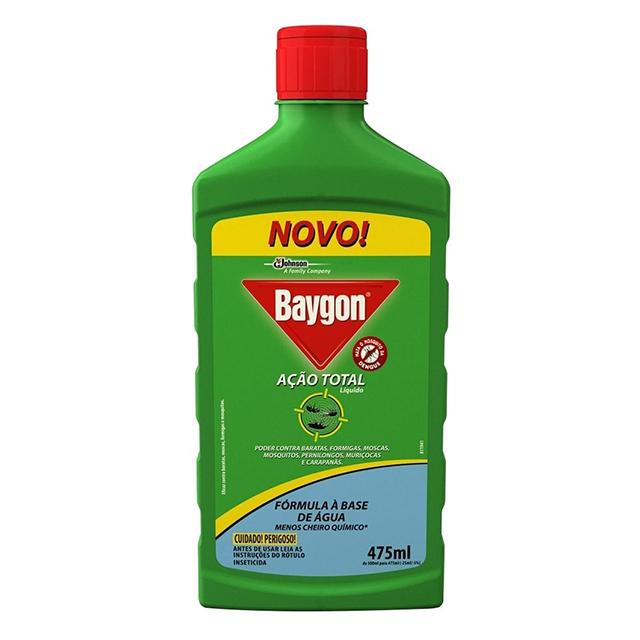 Inseticida Baygon Ação Total 475ml