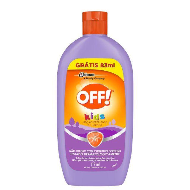 Repelente Off! Kids Loção 117ml + 83ml Grátis