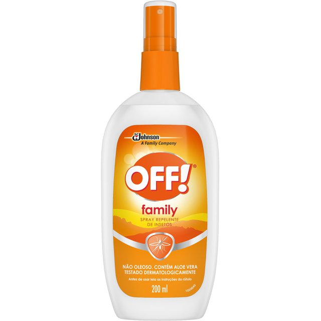 Repelente OFF! Family Spray 200ml