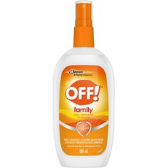 Repelente Off! Family Spray 200ml