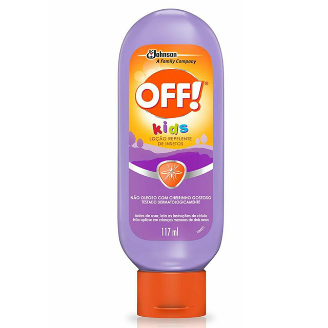 Repelente OFF! Kids Loção 117ml
