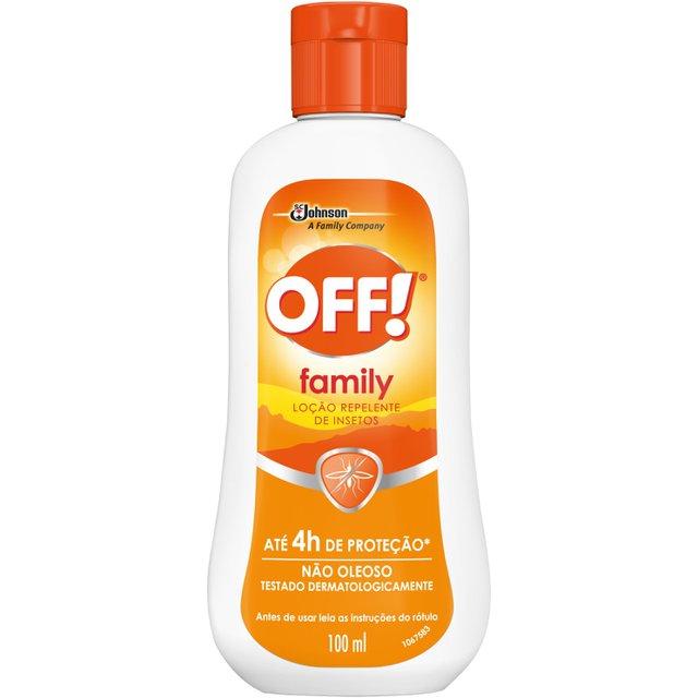 Repelente OFF! Family Loção 100ml