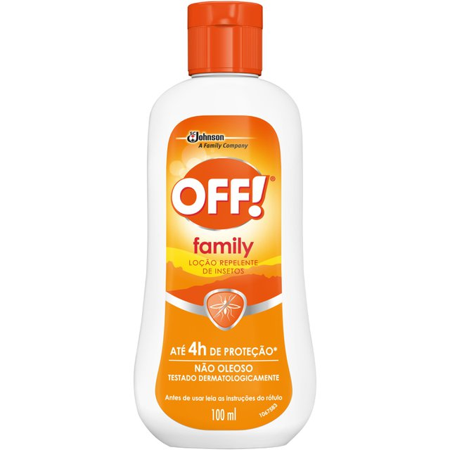 Repelente OFF! Family Loção 100ml