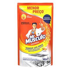 Desengordurante Mr Músculo Cozinha Refil Laranja 400ml Oferta Especial