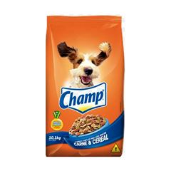 Ração Para Cães Champ Carne E Cereal 10,1kg