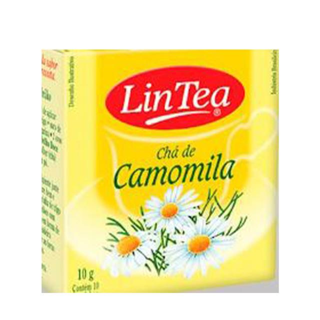Chá de Camomila Lintea 10g   Com 10 Saquinhos