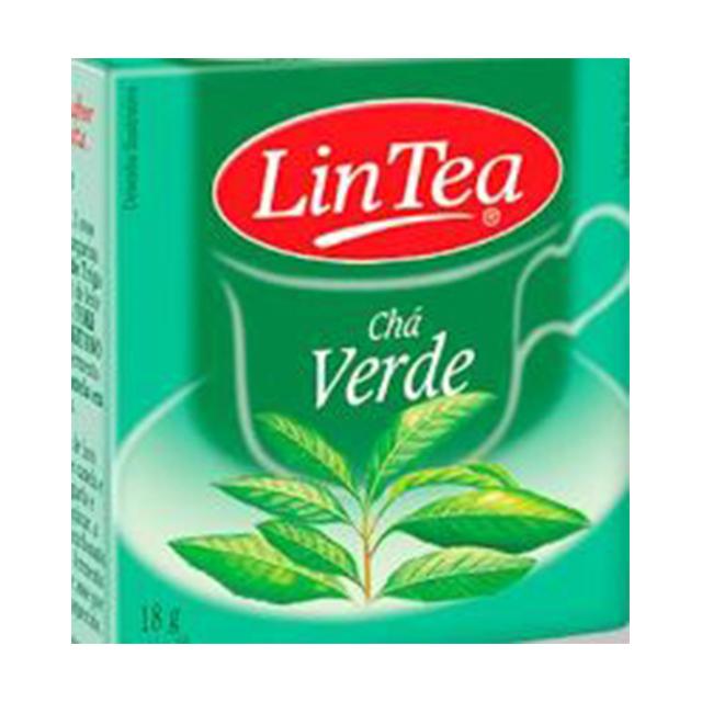 Chá Verde Lintea 18g   Com 10 Saquinhos