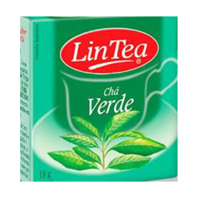 Chá Verde Lintea 18g | Com 10 Saquinhos