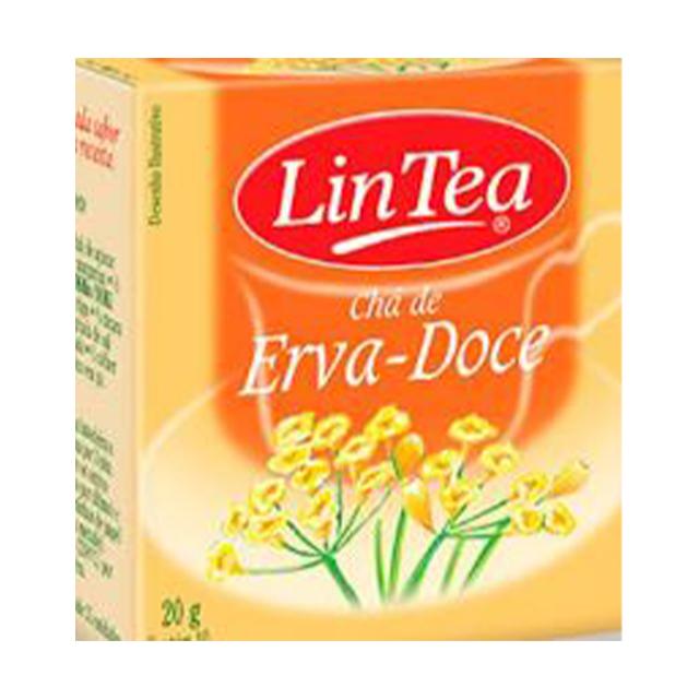 Chá de Erva Doce Lintea 20g   Com 10 Saquinhos