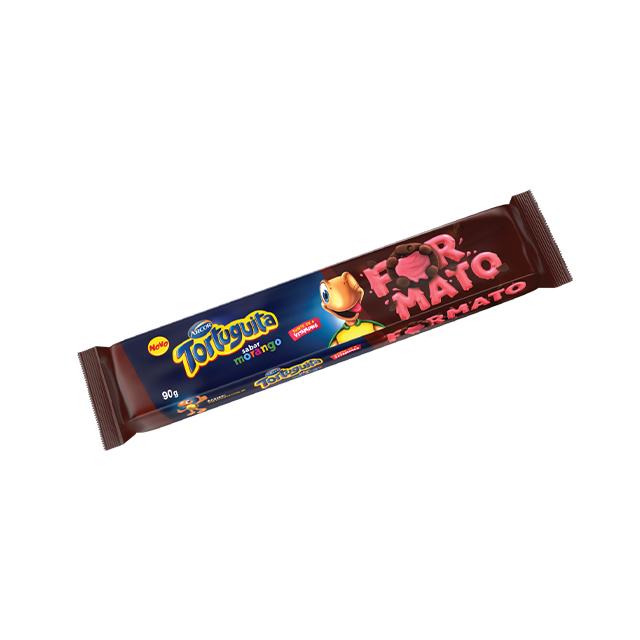 Biscoito Recheado Arcor Tortuguita Morango 86g