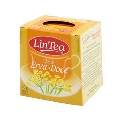 Chá De Erva Doce Lintea 20g | Com 10 Saquinhos