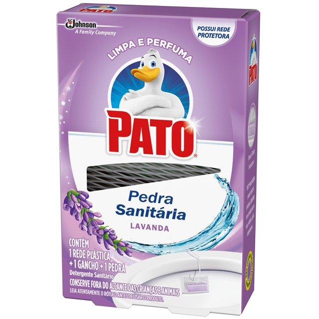 Desodorizador Sanitário PATO Lavanda (1 Rede Plástica + 1 Gancho + 1 Pedra) 25g