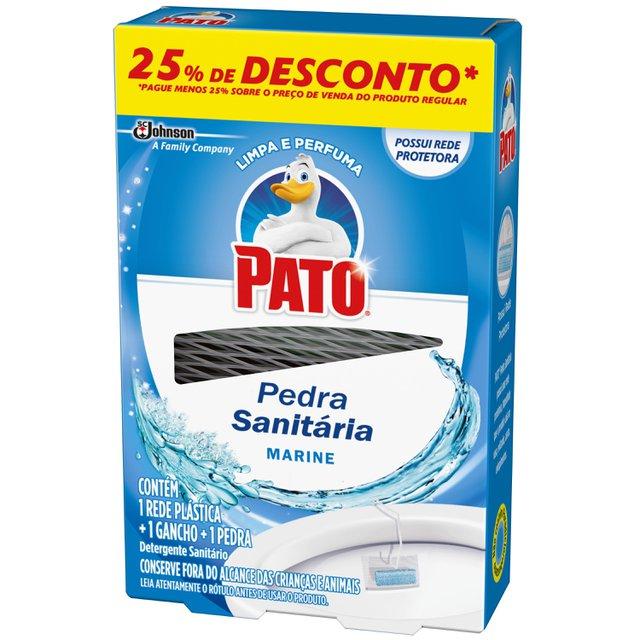 Desodorizador Sanitário PATO Marine (1 Rede Plástica + 1 Gancho + 1 Pedra) 25g com 25% de Desconto