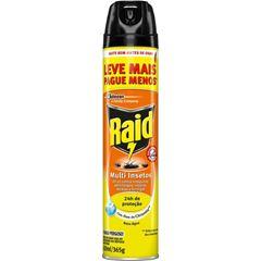 Inseticida Raid Multi-Insetos Spray Citronela Leve Mais Pague Menos 420ml