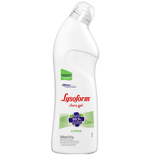 Desinfetante Lysoform Cloro Gel 500ml