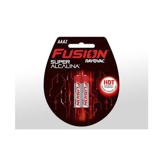 Pilha Rayovac Fusion Super Alcalina Palito AAA2 | Com 2 Unidades