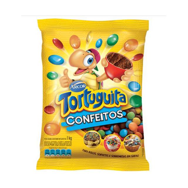 Confeitos Arcor Tortuguita 1kg
