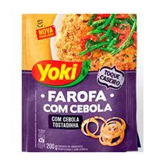 Farofa Yoki Com Cebola 200g