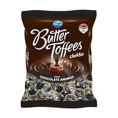 Bala Recheada Arcor Butter Toffees Chokko Amargo 100g