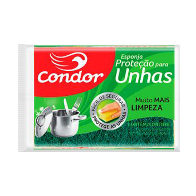 Esponja Condor Protege As Unhas | Ref: 1537