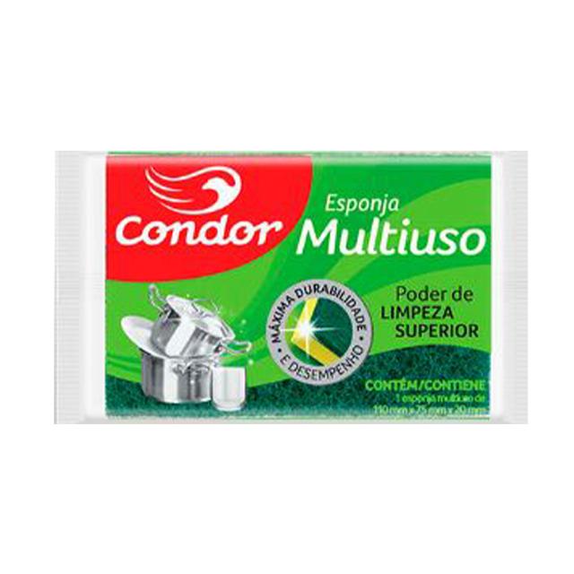 Esponja Condor Multiuso | Com 12 Unidades | Ref: 1531