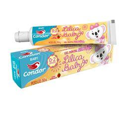 Gel Dental Infantil Condor Lilica Ripilica Bambinos 3 50g | Ref: 3511