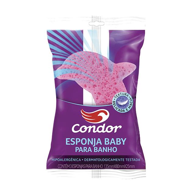 Esponja para Banho Infantil Condor Baby   Ref: 8305