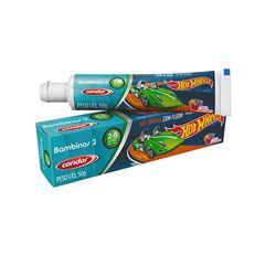 Gel Dental Infantil Condor Hot Wheels Bambinos 2 50g