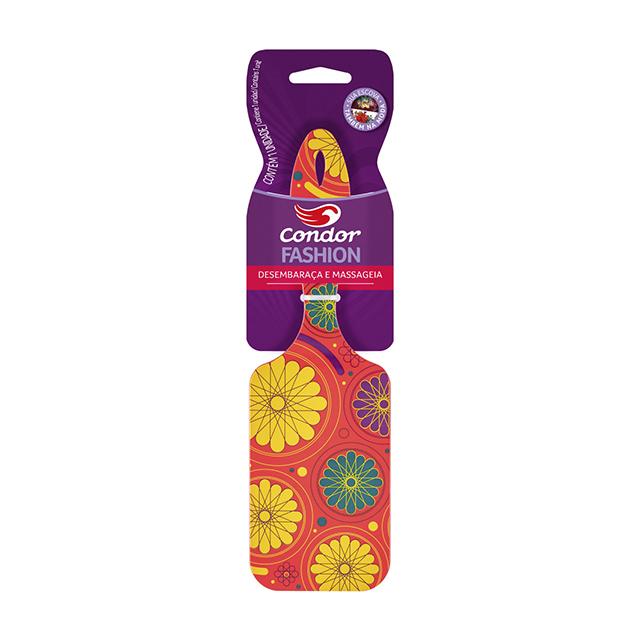 Escova para Cabelo Condor Fashion Retangular | Ref: 6893