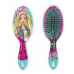 Escova Para Cabelo Infantil Condor Barbie Oval | Ref: 6895