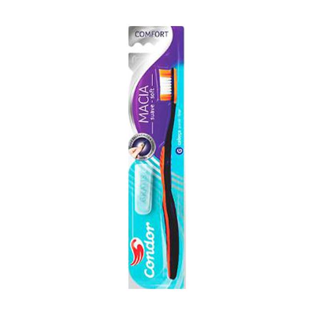 Escova Dental Condor Comfort Extra Macia | Ref: 3267-3