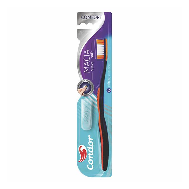 Escova Dental Condor Comfort Média | Ref: 3267-1