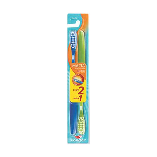 Escova Dental Condor Plus Leve 2 Pague 1 Unidade