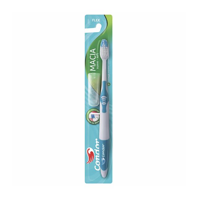 Escova Dental Condor Flex Macia | Ref: 3252-0