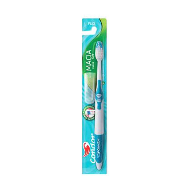 Escova Dental Condor Flex Média | Ref: 32521