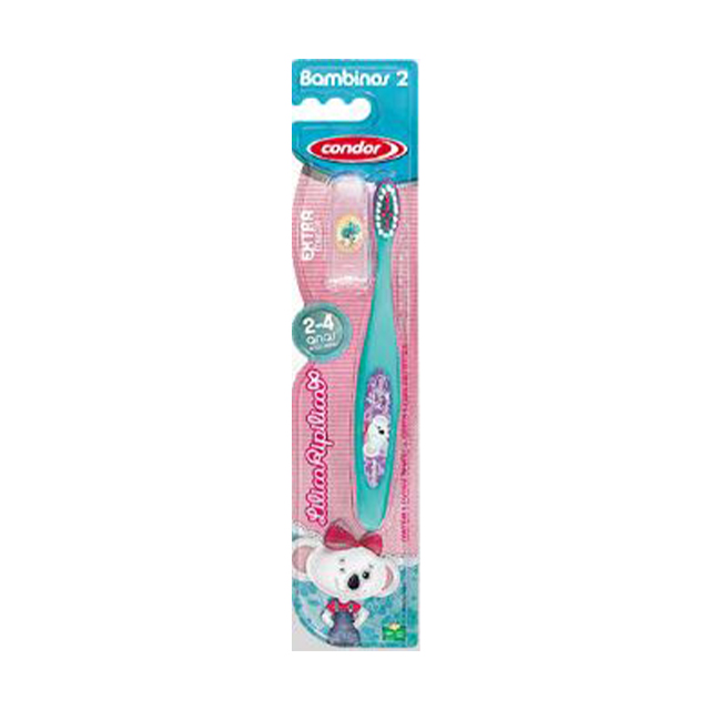 Escova Dental Infantil Condor Lilica Ripilica Extra Macia | Ref: 3167-3