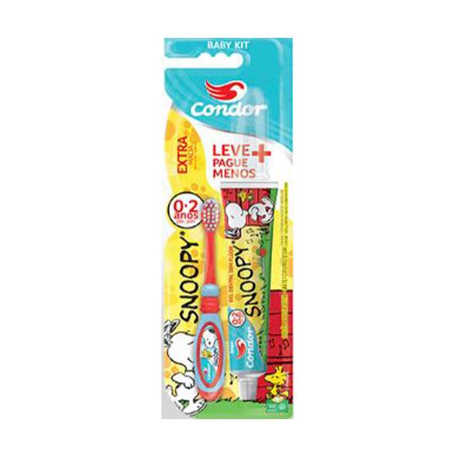 Escova Dental Infantil Condor Baby Snoopy | Ref: 3161-3