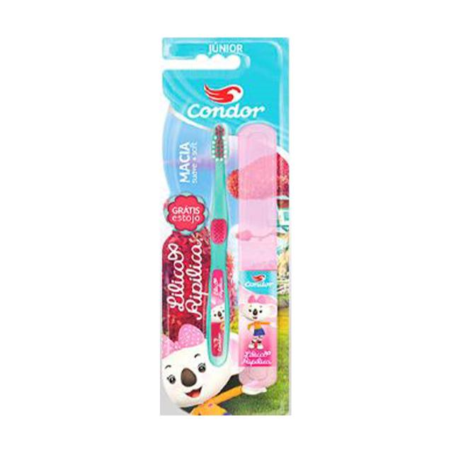 Escova Dental Infantil Condor Lilica Ripilina Junior Macia | Ref: 3160-0