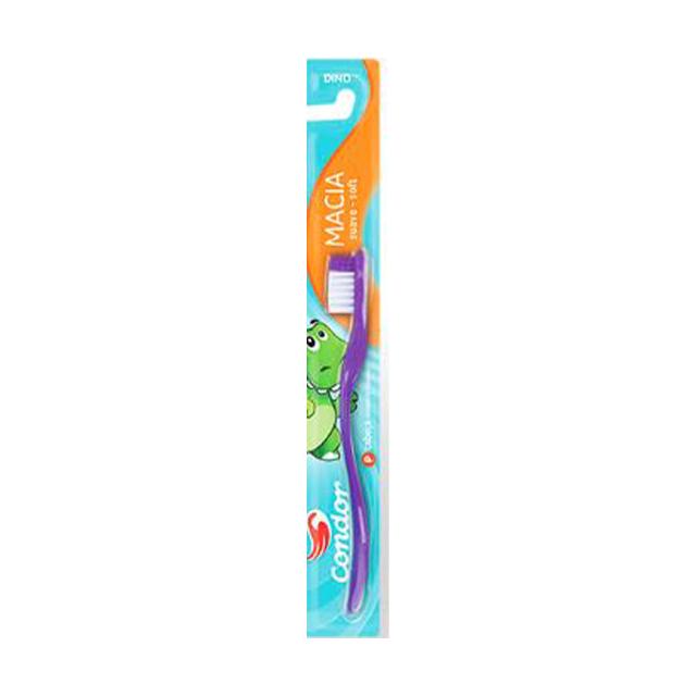 Escova Dental Infantil Condor Dino Macia | Ref: 31730
