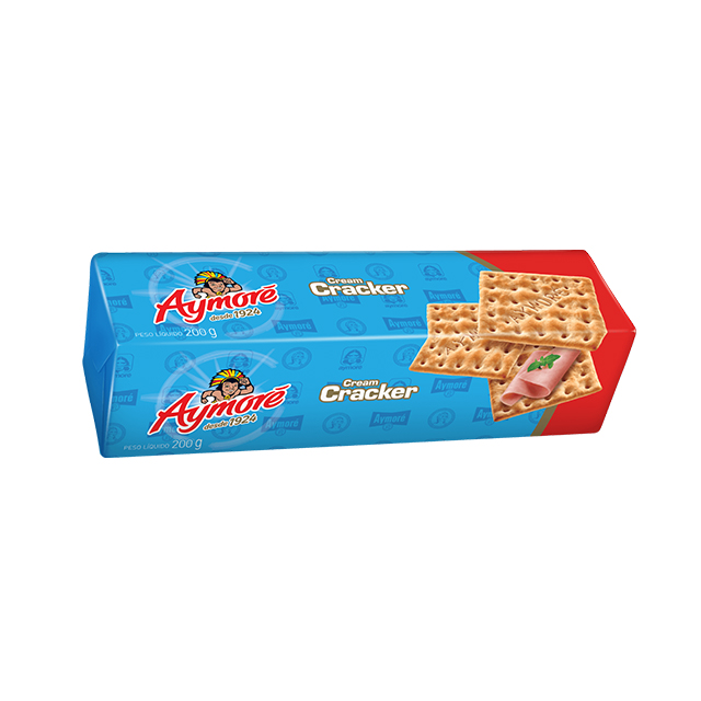 Biscoito Cream Cracker Aymoré 200g