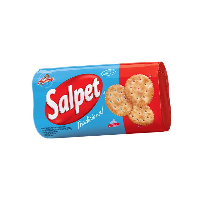 Biscoito Salgado Aymoré Salpet 200g