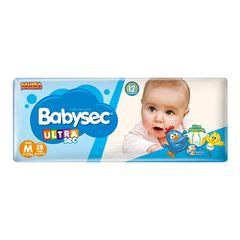 Fralda Softys Babysec Ultra Tamanho M | Com 28 Unidades