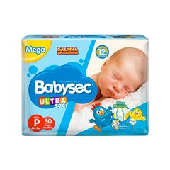 Fralda Softys Babysec Ultra Tamanho P | Com 46 Unidades